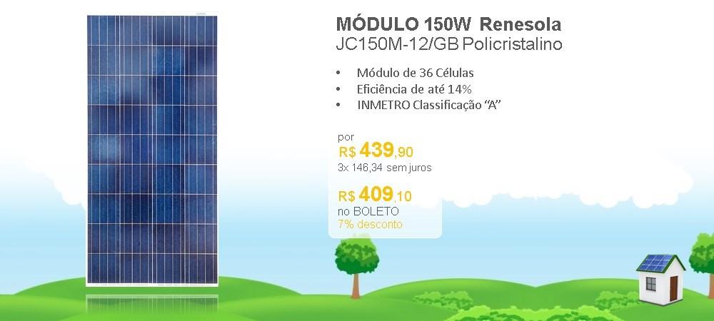 Rotativo -  Renesola 150W