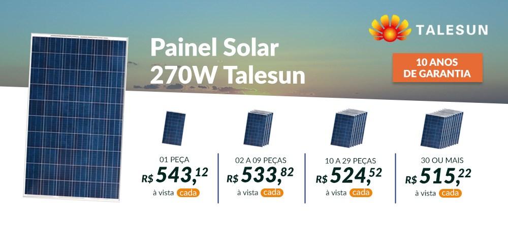 Banner Destaque Talesun 270W -