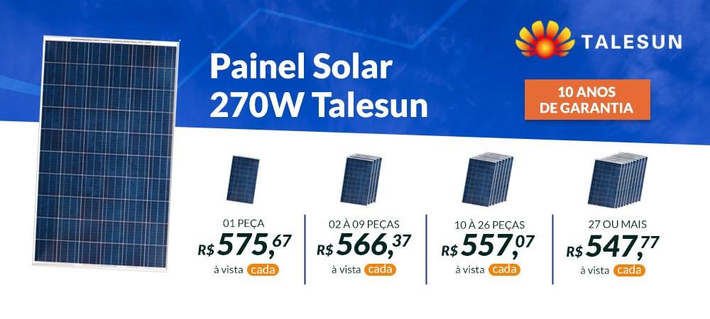 Painel Talesun 270W - Abril