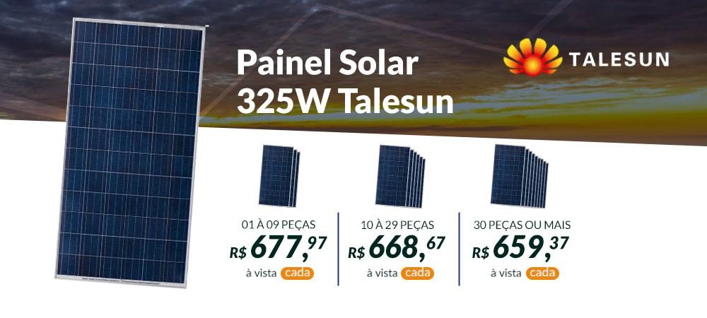 Painel Solar 325W Talesun - Abril