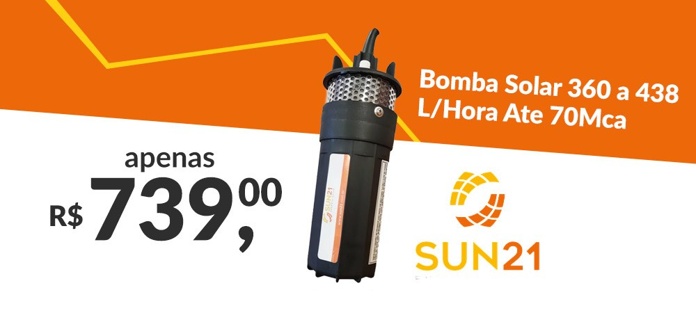 Banner Destaque Bomba Solar 360-438 - Novo preço - março