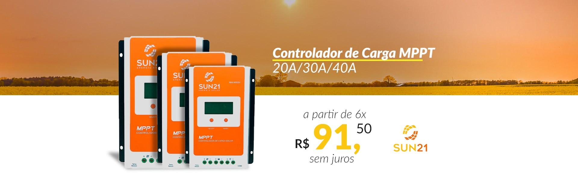 Controlador de Carga SUN21