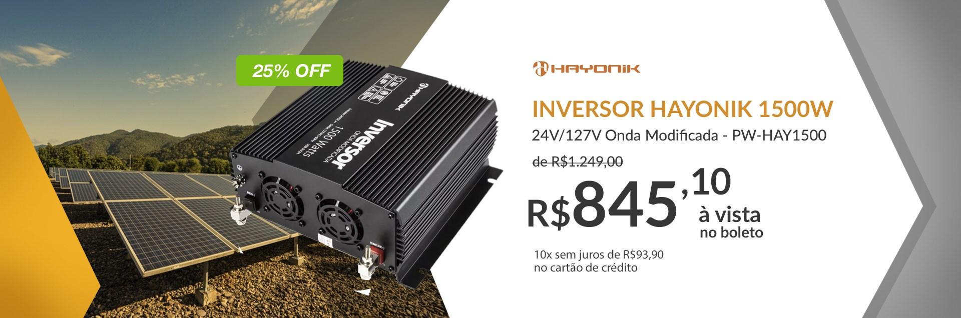 Inversor Hayonik 1500