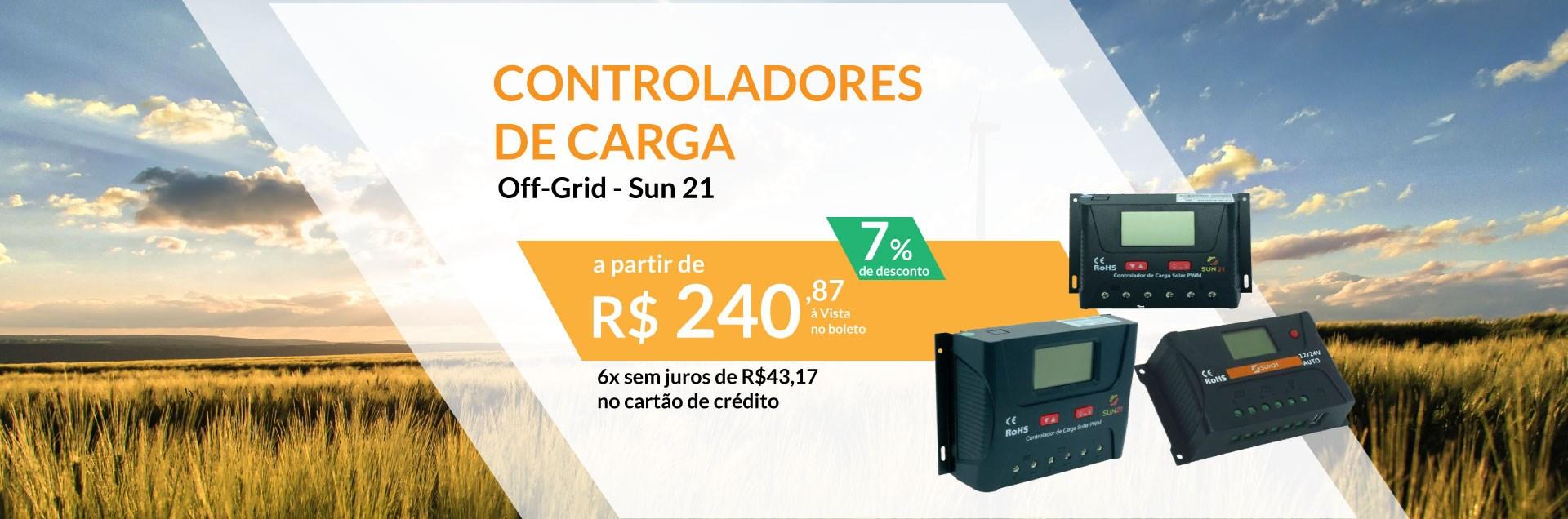 Controlador de carga off grid