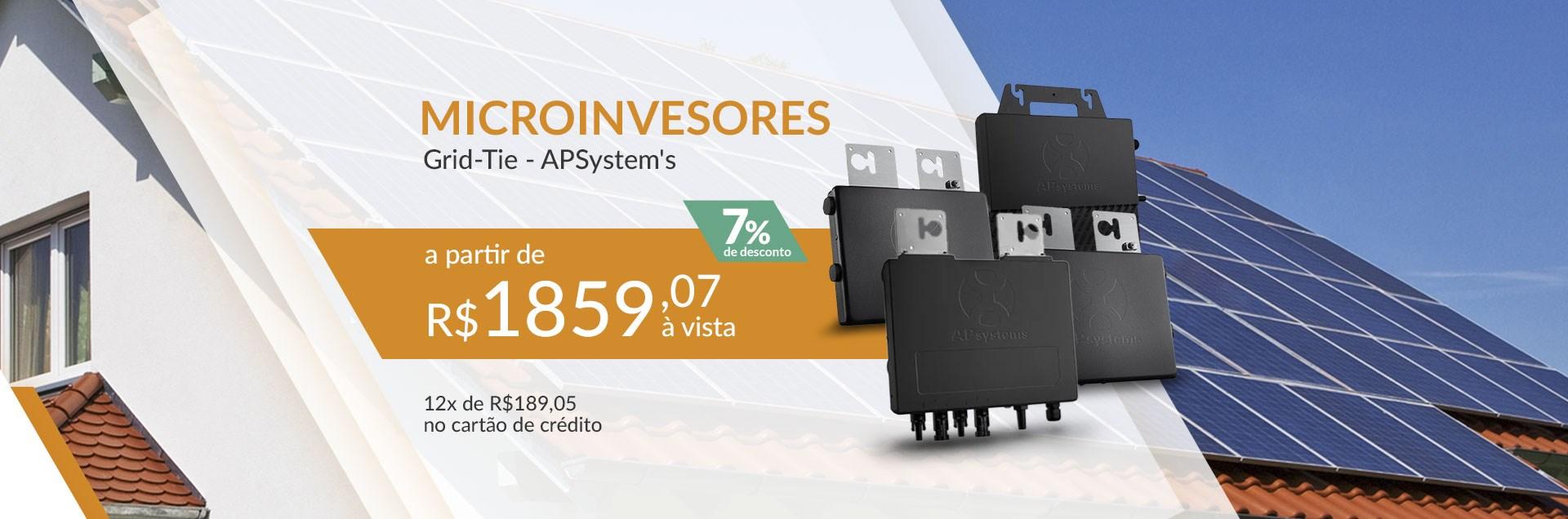 Microinvesores APSystem's