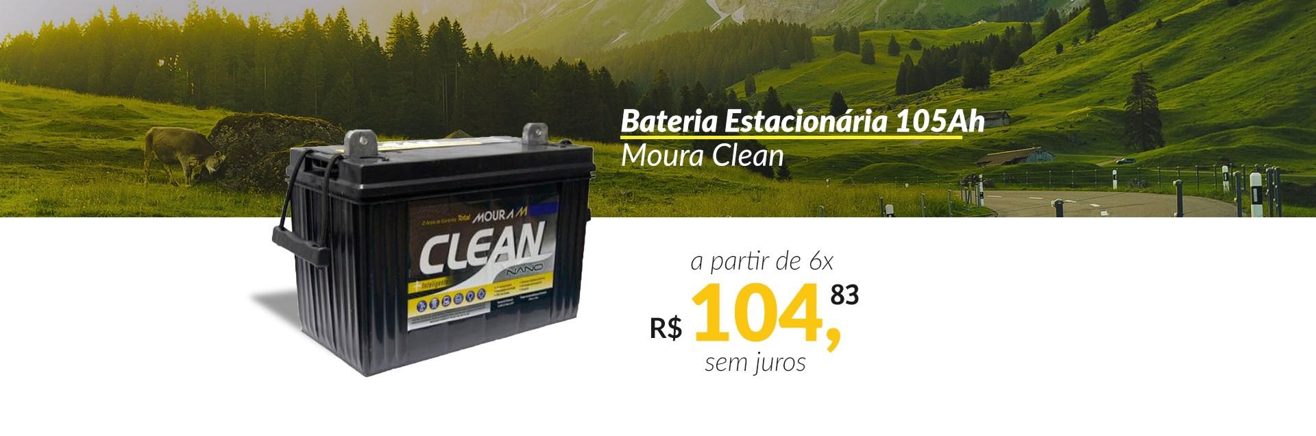 Bateria Moura Clean 105Ah