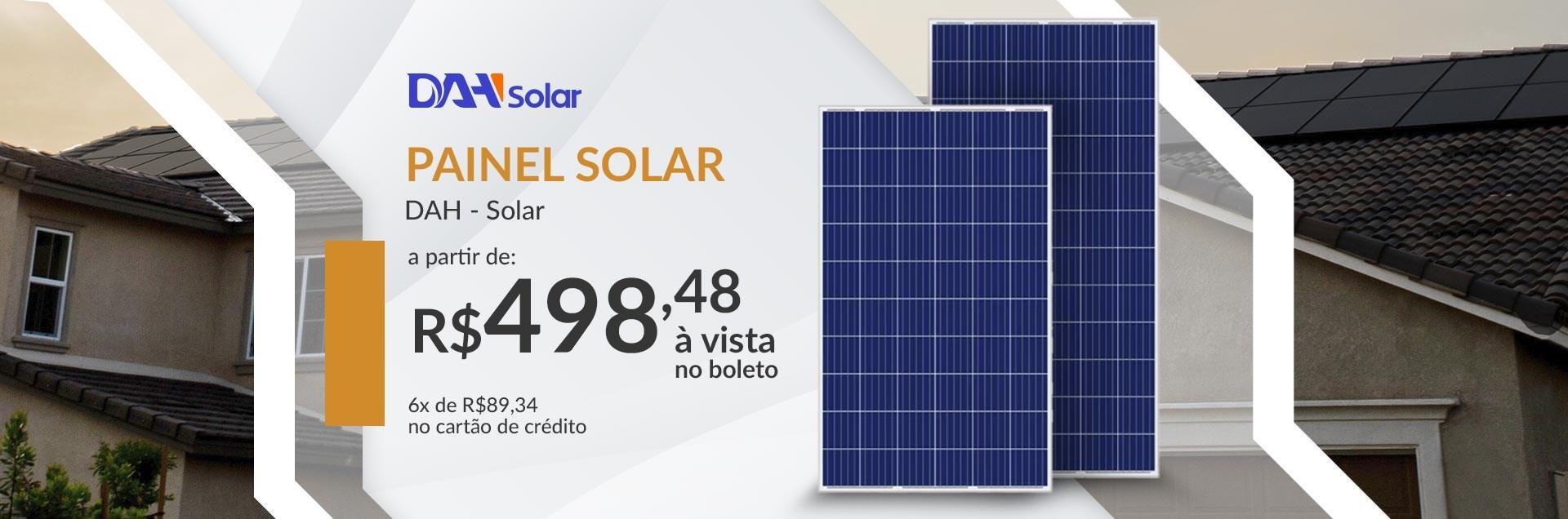 Outubro - Painéis DAH Solar
