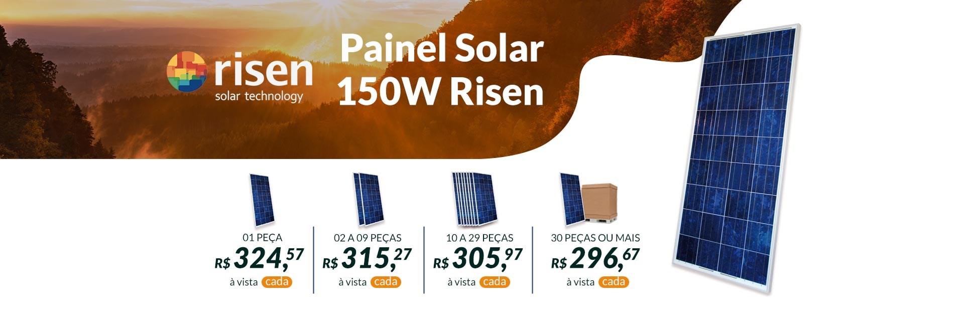 Painel Solar 150W Risen