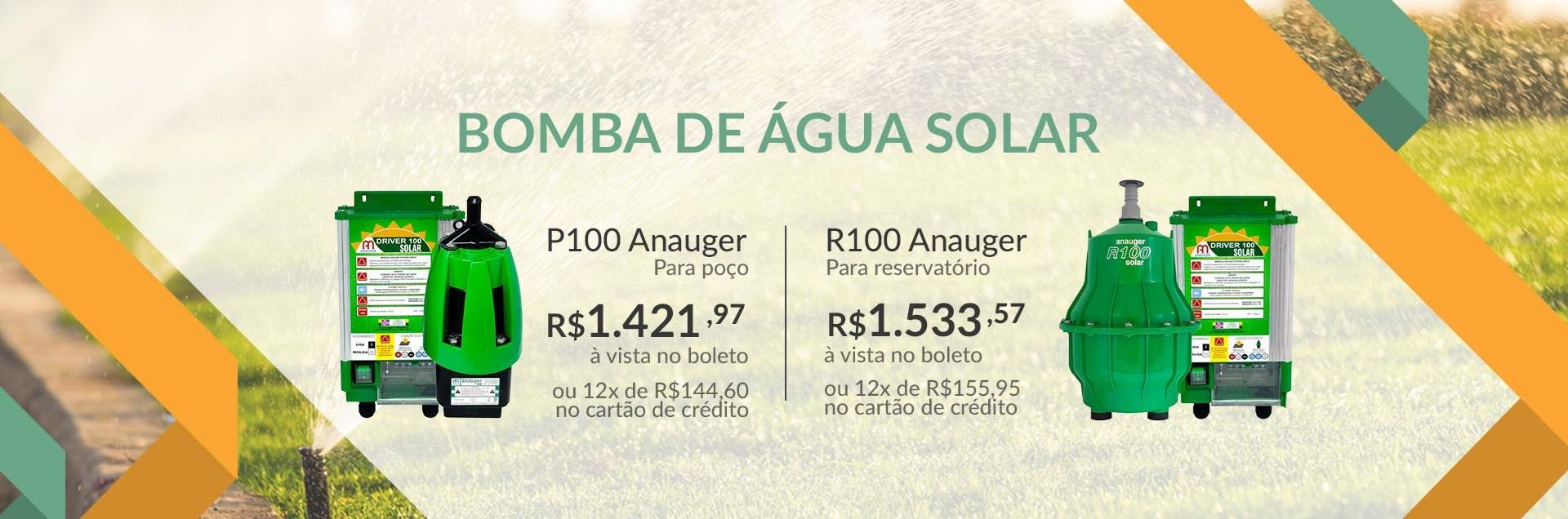 Bomba Solar P100 e R100 Anauger