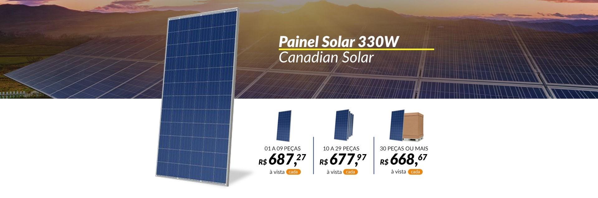 Painel Solar 330W Canadian
