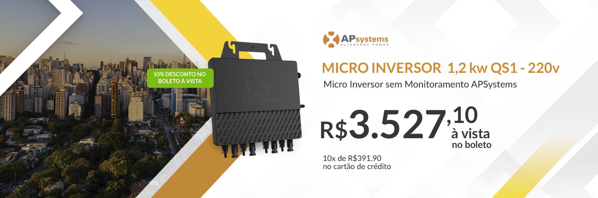 Micro Inversor Grid-Tie