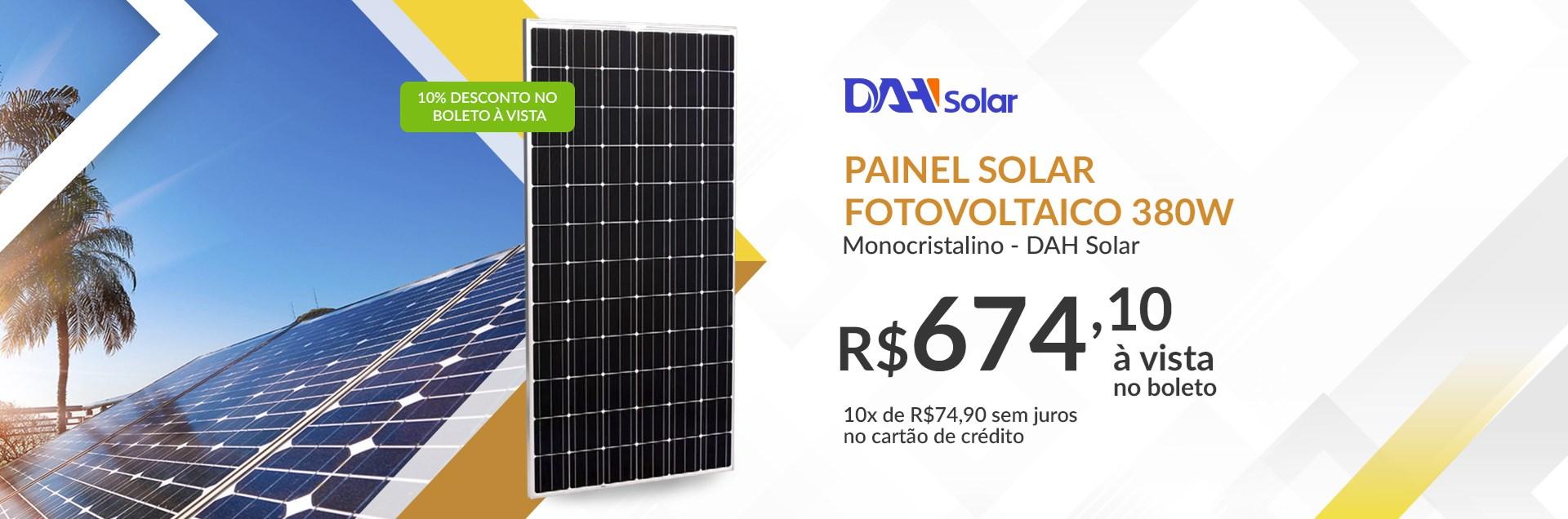 Painel Solar 380 DAH SOLAR