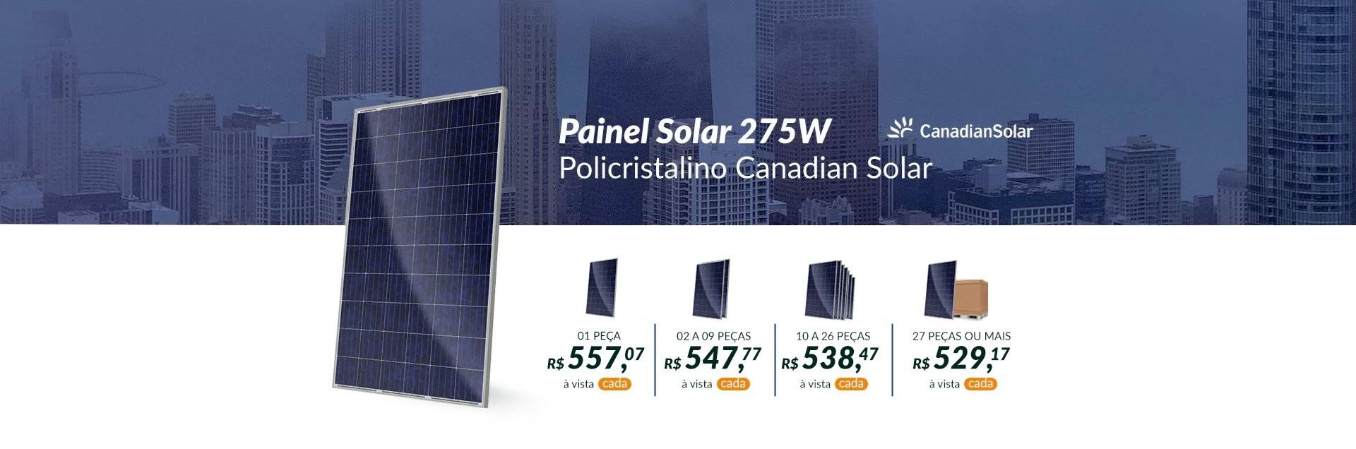 Painel Solar 275W Canadian Solar