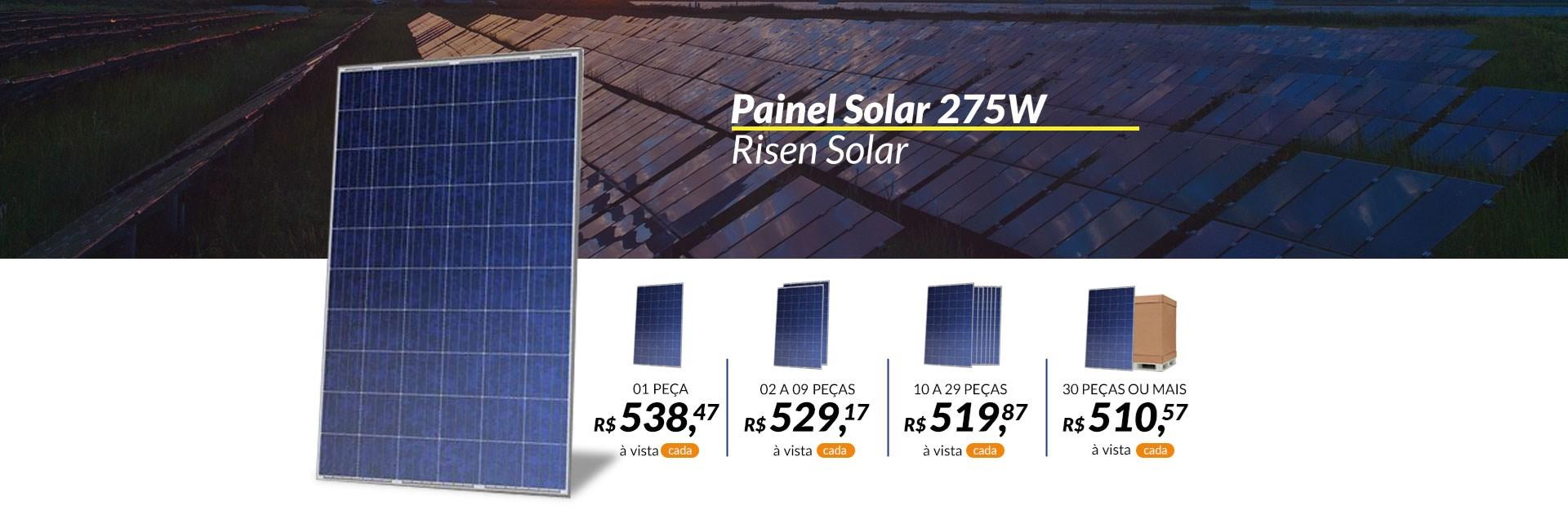 Painel Solar 275W - Risen Solar