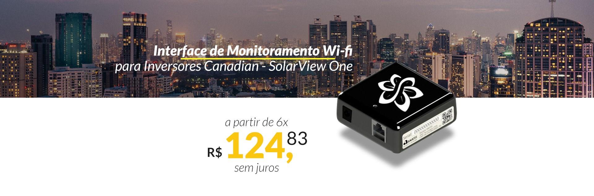 Interface de Monitoramento para Inversores Canadian Solar