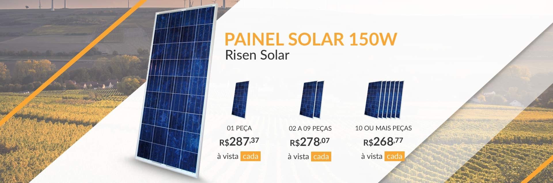 Painel Solar Risen 150W