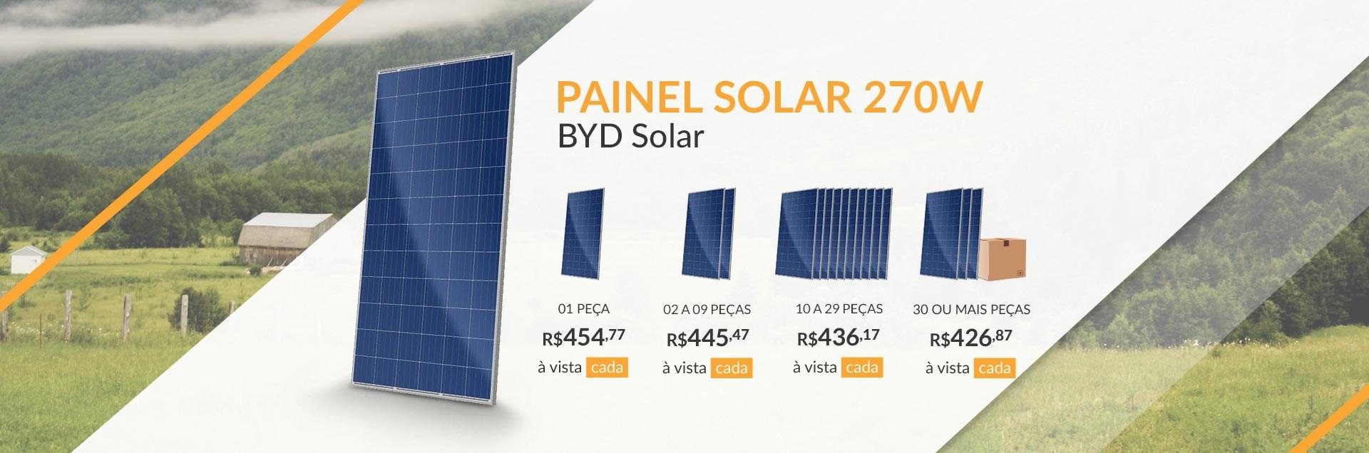 Painel Solar 270W BYD Solar - Junho