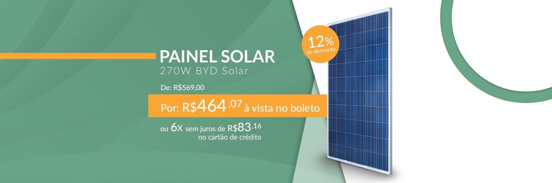 Painel Solar 270W BYD Solar