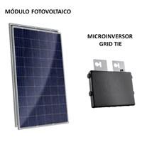 Kit Solar Grid-Tie até 64 Kwh/Mês para Microgeração (Conexão à Rede)