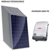 Kit Solar Grid-Tie até 584 Kwh/Mês para Microgeração (Conexão à Rede)