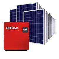 Kit Solar Grid-Tie 2376 kWh/Mês para Conexão à Rede Elétrica (380V Trifásico)