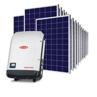 Kit Solar Grid-Tie até 1782 Kwh/Mês para Microgeração (Conexão à Rede)
