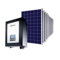 Kit Solar Grid-Tie 330 kWh/Mês para Microgeração (Conexão à Rede)