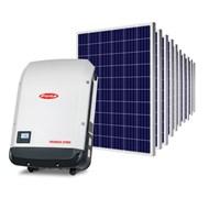 Kit Solar Grid-Tie 594 kWh/Mês para Conexão à Rede Elétrica
