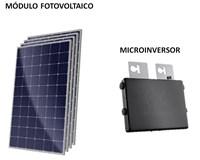 Kit Solar Grid-Tie 144 kWh/Mês para Microgeração (Conexão à Rede)