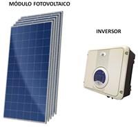 Kit Solar Grid-Tie 198 kWh/Mês para Conexão à Rede Elétrica - B&B