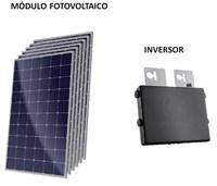 Kit Solar Grid-Tie 216 kWh/Mês para Conexão à Rede Elétrica - APSystems