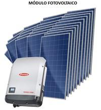 Kit Solar Grid-Tie 2059 kWh/Mês para Conexão à Rede Elétrica - Fronius