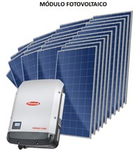 Kit Solar Grid-Tie até 2059 kWh/Mês para Microgeração (Conexão à Rede)