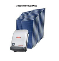 Kit Solar Grid-Tie 712 kWh/Mês para Conexão à Rede Elétrica - Ingeteam