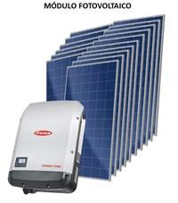 Kit Solar Grid-Tie 475 kWh/Mês para Microgeração (Conexão à Rede)