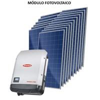Kit Solar Grid-Tie até 1669 Kwh/Mês para Microgeração (Conexão à Rede)