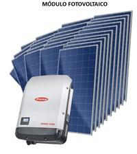 Kit Solar Grid-Tie 950 kWh/Mês para Microgeração (Conexão à Rede)