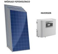 Kit Solar Grid-Tie 252 kWh/Mês para Conexão à Rede Elétrica - Ecosolys