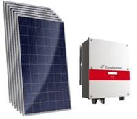 Kit Solar Grid-Tie 165 kWh/Mês para Microgeração (Conexão à Rede)