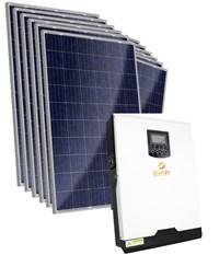 Gerador Solar 312 a 396 kWh/Mês para Uso Isolado (Off-Grid)