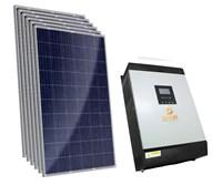 Gerador Solar 135 a 247 kWh/Mês para Uso Isolado (Off-Grid)