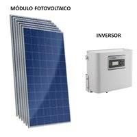 Kit Solar Grid-Tie 134 Kwh/Mês para Microgeração (Conexão à Rede)
