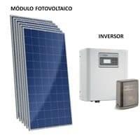 Kit Solar Grid-Tie 252 Kwh/Mês para Microgeração (Conexão à Rede)