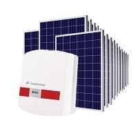 Kit Solar Grid-Tie 6000 Kwh/Mês para Microgeração (Conexão à Rede)