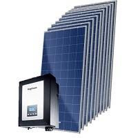 Kit Solar Grid-Tie até 396 Kwh/Mês para Microgeração (Conexão à Rede)