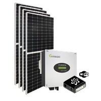 Kit Solar Grid-Tie 220 Kwh/Mês para Microgeração (Conexão à Rede)