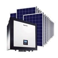 Kit Solar Grid-Tie 1839 kWh por Mês para Conexão à Rede Elétrica
