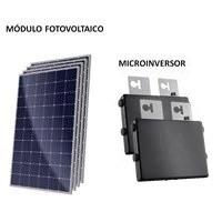 Kit Solar Grid-Tie até 169 kWh/Mês para Microgeração (Conexão à Rede)