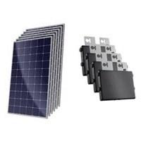 Kit Solar Grid-Tie 216 kWh/Mês para Microgeração (Conexão à Rede)