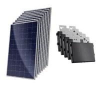 Kit Solar Grid-Tie 412kWh/Mês para Microgeração (Conexão à Rede)
